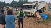 Vendedor de aceitunas muere al ser arrollado por un camión