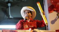 Pedro Castillo de Perú Libre solicitó a la población que apoyen a su eventual gestión.