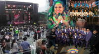 Artistas se emocionan por primer concierto presencial