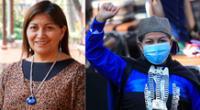 """""""Esta Convención que hoy me toca presidir transformará a Chile en un Chile plurinacional, en un Chile intercultural, en un Chile que no atente contra los derechos de las mujeres """", dijio Elisa Loncón."""