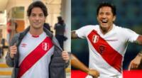 El actor Andrés Wiese se mostró camino a las grabaciones de su nuevo proyecto, y alentó al equipo antes del Perú vs. Brasil.