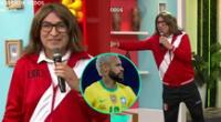 Fernando Armas apareció en América Hoy interpretando a Ricardo Gareca, y dio sus mejores reacciones antes de la semifinal en la Copa América.