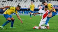 Perú y Brasil jugaron por la semifinal de la Copa América 2021.