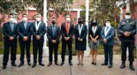 Diferentes autoridades se reunieron en sede judicial del distrito El Porvenir