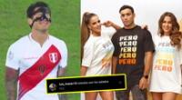 Alejandra Baigorria lanza colección de ropa antes del Perú vs Brasil cibernautas afirman que fue mala suerte.