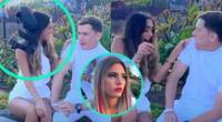 La influencer Luana Barrón se encuentra en EE.UU. y apareció en un divertido clip junto a los Youtuber Lelé Pons y Guaynaá.