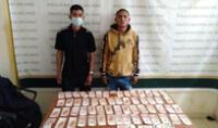 Sujetos fueron detenidos tras una persecución policial