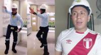 Ingeniero bailarín volvió a llamar la atención en las redes sociales.