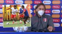 Ricardo Gareca analizó el trabajo de la selección peruana en la Copa América 2021.