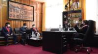 Presidenta del Poder Judicial se reunió con sindicatos de trabajadores de  la Corte de Puno