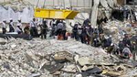 """Con 54 muertos termina búsqueda en edificio colapsado de Miami: """"Hallar sobrevivientes es imposible"""""""