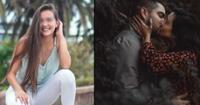 Álvaro Rod y Merly Morello protagonizan tierno beso en videoclip.