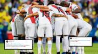 Artistas felices con el desempeño de Perú en la Copa América 2021.