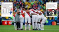 Prensa internacional opina sobre la participación de la selección de Perú en la Copa América 2021.