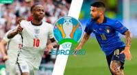 Italia vs Inglaterra: horario y dónde ver EN VIVO.