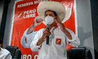 Pedro Castillo, virtual presidente electo del Perú