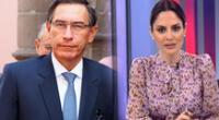Mávila Huertas opina sobre el expresidente Martín Vizcarra