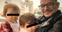 El productor Ricardo Morán recordó que sus pequeños Catalina y Emiliano no tienen DNI, y dio detalles de su situación con Reniec.