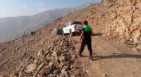 Menor hallada sin vida en lo alto de un cerro en Jicamarca.
