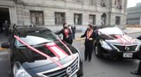 Poder Judicial entrega vehículos a Cortes de Apurímac y Puno