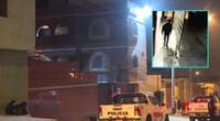 Cámaras del hotel lograron captar al criminal que escapó en una moto lineal.