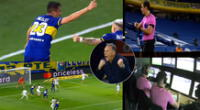 Boca Juniors se adelantó en el marcador ante Atlético Mineiro, pero el VAR le dijo que no.