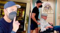 El actor Zac Efron y su hermano Dylan se escabulleron en la residencia para personas mayores para llevarse a su abuelo, y el momento se hizo viral.
