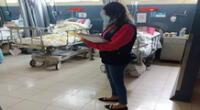 La representante del Ministerio Público de Lima Norte interrogó a los dos policías en el hospital