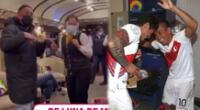 Christian Cueva lo da todo en tren con el que viajó a Cusco.