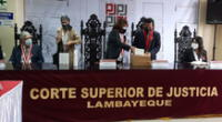 Presidenta del Poder Judicial Elvia Barrios sostuvo reunión con autoridades de la región de Lambayeque