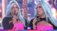 Macarena Vélez debutó como cantante, pero su peculiar look 'se robó el show'