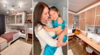 Karen Schwarz sorprende con la habitación de su hija.