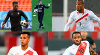Cáceda, Carvallo, Rodriguez , Loyola y Farfán estuvieron en Rusia 2018