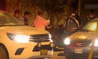 Peritos de criminalistica encontraron más de 20 casquillos de bala