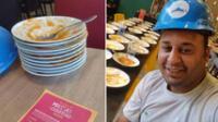 Echan a hombre de un restaurante tras comer 15 platos de pasta: quería pedir más comida.