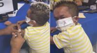 Jorgito El Guayaco fue vacunado y recibe crueles bromas de sus seguidores en redes sociales.