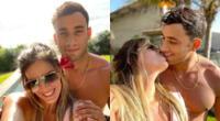 Said Palao y Alejandra Baigorria viajaron a Máncora juntos para conmemorar seis meses como pareja, y él aprovechó en festejar públicamente.