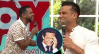 Edson Dávila interrumpió un momento serio en América Hoy para hablar de los nuevos dientes de Christian Domínguez, y hacer una inesperada comparación.