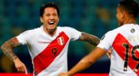 Gianluca Lapadula sigue dando la hora tras finalizar la Copa América 2021.