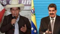 """Nicolás Maduro ante proclamación de Pedro Castillo: """"Felicito al pueblo peruano, Venezuela los abraza"""""""