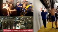 Boca Juniors quedó eliminado y jugadores se enfrentaron contra la Policía de Brasil.