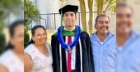 Lo logró. Él tiene 29 años y egreso de la Universidad de Augusta donde es medico residente.