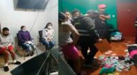 Los detenidos y lugar de intervención