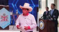 """Senador de EE. UU. a JNE tras proclamación de Castillo: """"Me alegra que escuchen las voces del pueblo""""."""