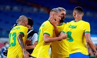 Brasil vs. Alemania por las Olimpiadas de Tokio 2021.