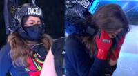 Esto es guerra: Ducelia Echevarría sufre ataque de nervios y llora en reto extremo de altura