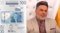Andrés Hurtado Chibolín agradece por incluir su imagen en nuevos billetes.