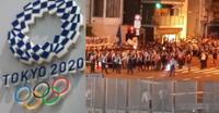 Protestan en Japón por realizar inauguración de los Juegos Olímpicos Tokio 2020.