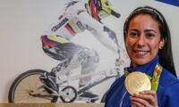 Maria Pajón es la carta de oro del deporte colombiano.