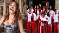 Magaly Medina se preguntó por e desempeño de los deportistas peruanos en Tokio 2020.